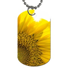 Plant Nature Leaf Flower Season Dog Tag (one Side) by Simbadda