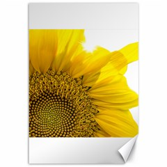 Plant Nature Leaf Flower Season Canvas 12  X 18   by Simbadda