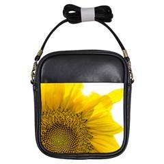 Plant Nature Leaf Flower Season Girls Sling Bags by Simbadda