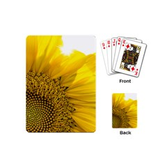 Plant Nature Leaf Flower Season Playing Cards (mini)  by Simbadda