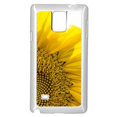 Plant Nature Leaf Flower Season Samsung Galaxy Note 4 Case (white) by Simbadda