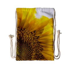 Plant Nature Leaf Flower Season Drawstring Bag (small) by Simbadda