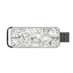 Pattern Motif Decor Portable Usb Flash (two Sides) by Simbadda