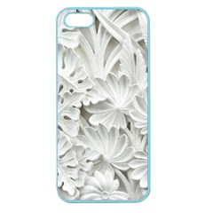 Pattern Motif Decor Apple Seamless Iphone 5 Case (color) by Simbadda