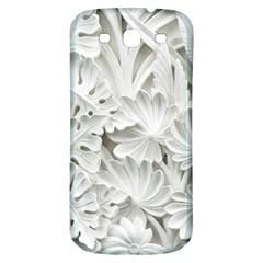 Pattern Motif Decor Samsung Galaxy S3 S Iii Classic Hardshell Back Case by Simbadda