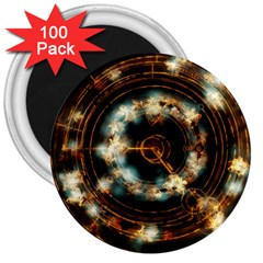 Science Fiction Energy Background 3  Magnets (100 Pack) by Simbadda