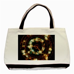 Science Fiction Energy Background Basic Tote Bag by Simbadda