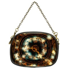 Science Fiction Energy Background Chain Purses (two Sides)  by Simbadda