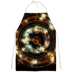 Science Fiction Energy Background Full Print Aprons by Simbadda