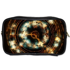 Science Fiction Energy Background Toiletries Bags 2 Side by Simbadda