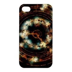 Science Fiction Energy Background Apple Iphone 4/4s Hardshell Case by Simbadda
