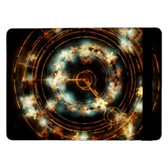 Science Fiction Energy Background Samsung Galaxy Tab Pro 12 2  Flip Case by Simbadda