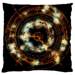 Science Fiction Energy Background Standard Flano Cushion Case (one Side) by Simbadda