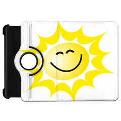 The Sun A Smile The Rays Yellow Kindle Fire Hd 7  by Simbadda