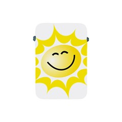 The Sun A Smile The Rays Yellow Apple Ipad Mini Protective Soft Cases by Simbadda