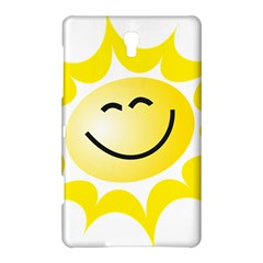 The Sun A Smile The Rays Yellow Samsung Galaxy Tab S (8 4 ) Hardshell Case  by Simbadda
