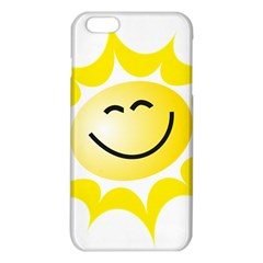 The Sun A Smile The Rays Yellow Iphone 6 Plus/6s Plus Tpu Case by Simbadda