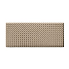 Pattern Ornament Brown Background Cosmetic Storage Cases by Simbadda