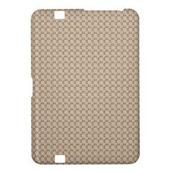 Pattern Ornament Brown Background Kindle Fire Hd 8 9  by Simbadda