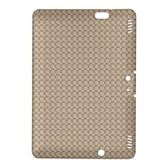 Pattern Ornament Brown Background Kindle Fire Hdx 8 9  Hardshell Case by Simbadda