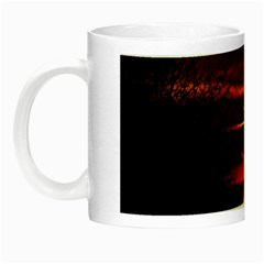 Sunset Sun Fireball Setting Sun Night Luminous Mugs by Simbadda