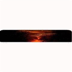Sunset Sun Fireball Setting Sun Small Bar Mats by Simbadda