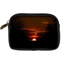 Sunset Sun Fireball Setting Sun Digital Camera Cases by Simbadda