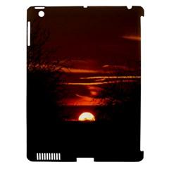 Sunset Sun Fireball Setting Sun Apple Ipad 3/4 Hardshell Case (compatible With Smart Cover) by Simbadda