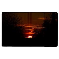 Sunset Sun Fireball Setting Sun Apple Ipad 2 Flip Case by Simbadda