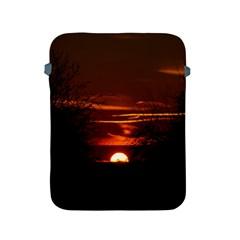 Sunset Sun Fireball Setting Sun Apple Ipad 2/3/4 Protective Soft Cases by Simbadda