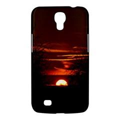Sunset Sun Fireball Setting Sun Samsung Galaxy Mega 6 3  I9200 Hardshell Case by Simbadda