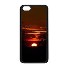 Sunset Sun Fireball Setting Sun Apple Iphone 5c Seamless Case (black) by Simbadda