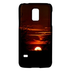 Sunset Sun Fireball Setting Sun Galaxy S5 Mini by Simbadda