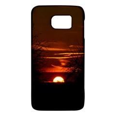 Sunset Sun Fireball Setting Sun Galaxy S6 by Simbadda