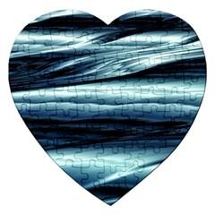 Texture Fractal Frax Hd Mathematics Jigsaw Puzzle (heart) by Simbadda