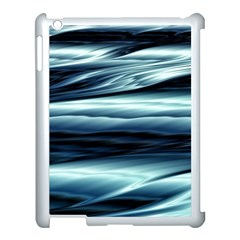Texture Fractal Frax Hd Mathematics Apple Ipad 3/4 Case (white) by Simbadda