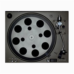 Turntable Record System Tones Small Glasses Cloth (2 Side) by Simbadda