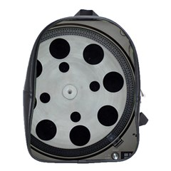 Turntable Record System Tones School Bags (xl)  by Simbadda