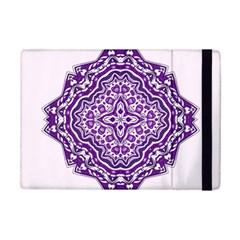 Mandala Purple Mandalas Balance Ipad Mini 2 Flip Cases by Simbadda