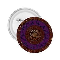 Zodiak Zodiac Sign Metallizer Art 2 25  Buttons by Simbadda