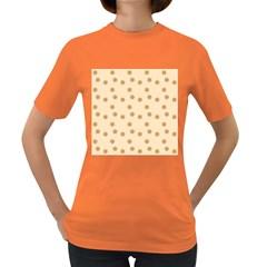 Pattern Gingerbread Star Women s Dark T Shirt by Simbadda