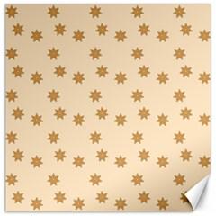 Pattern Gingerbread Star Canvas 20  X 20   by Simbadda