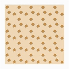 Pattern Gingerbread Star Medium Glasses Cloth by Simbadda