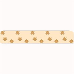 Pattern Gingerbread Star Small Bar Mats by Simbadda