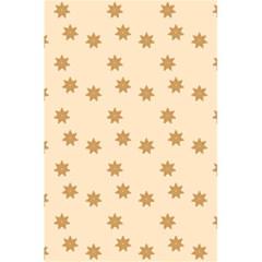 Pattern Gingerbread Star 5 5  X 8 5  Notebooks by Simbadda