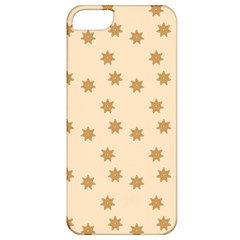 Pattern Gingerbread Star Apple Iphone 5 Classic Hardshell Case by Simbadda