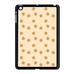 Pattern Gingerbread Star Apple Ipad Mini Case (black) by Simbadda