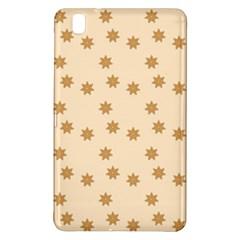 Pattern Gingerbread Star Samsung Galaxy Tab Pro 8 4 Hardshell Case by Simbadda