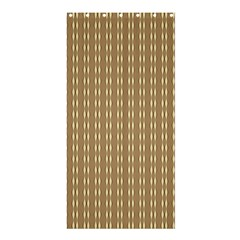 Pattern Background Brown Lines Shower Curtain 36  X 72  (stall)  by Simbadda