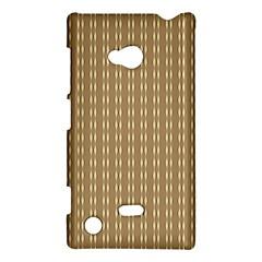 Pattern Background Brown Lines Nokia Lumia 720 by Simbadda